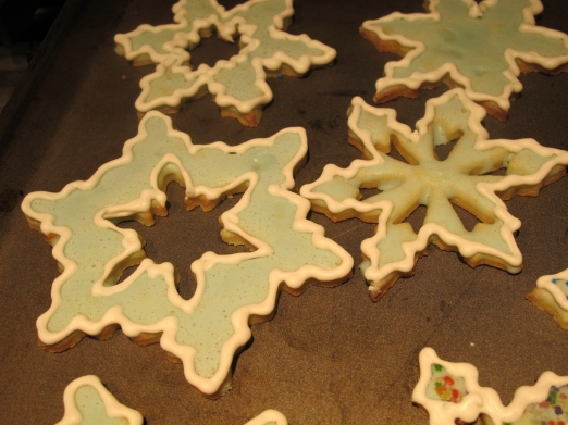 Snowflakes! Photo Credit: Pippa biddle