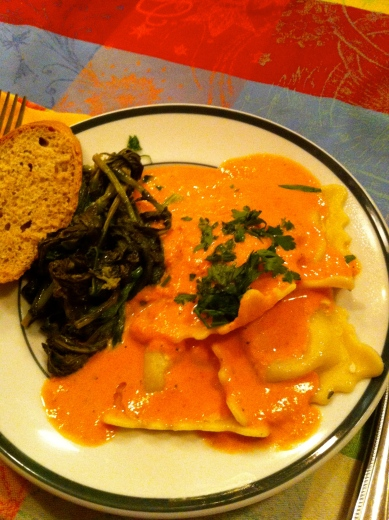 Ravioli with Vodka SaucePhoto Credit: Pippa Biddle