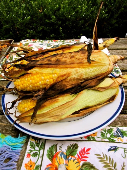 Grilled Corn on the Cob Photo Credit: Pippa Biddle