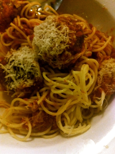Weeknight Spaghetti and Meatballs, Photo Credit: Pippa Biddle